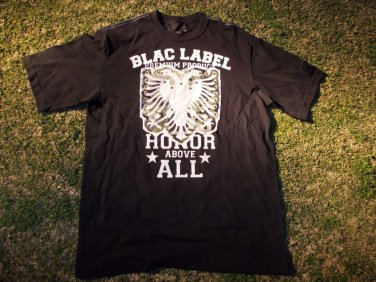 Blac Label Black short sleeve T shirt Short Sleeve T Shirt Black Label Tee L
