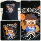 Akademiks Black Short sleeve T-Shirt  Akademiks basketball print T shirt  XL