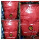 MANCHESTER UNITED Red Light weight Tote Bag Soccer Light backpack embroidered