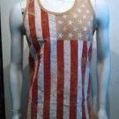 USA Flag Tank Top Mens American Flag Fashion Tank USA Tank top S-2X #2