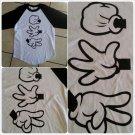 Rock Sisscors Paper long sleeve baseball style T shirt Hip Hop T-shirt S-XL