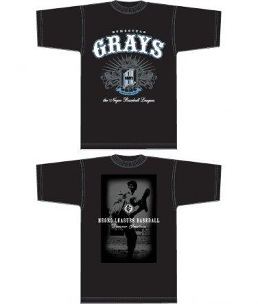 Mens Black short sleeve Negro League Homestead Grays T shirtT shirt 3X Baseball