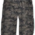 Mens Camouflage cargo pants Green Brown Camouflage fatigue cargo pants W30-42