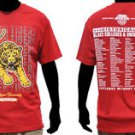 Tuskegee University short sleeve college T shirt TSU Golden Tigers T shirt M-4X