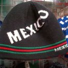 BLACK GREEN MEXICO SKULL CAP MEXICO CITY EMBROIDERY EMBROIDED SKULL CAP BEANIE