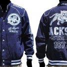 Jackson State University Long sleeve Race Jacket HBCU COLLEGE JACKET S-4X #2