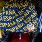 BLUE GOLD ESPANA SKULL CAP ESPANA EMBROIDERY EMBROIDED SKULL CAP BEANIE #2