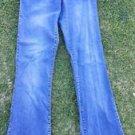 Women's Express Jeans stretch denim jean pants Women's blue denim jean pants 7/8