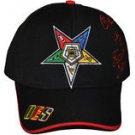 Order of the Eastern Star Blac Baseball Cap Order of Eastern Star Hat CAP