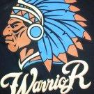 Black Indian Warrior short sleeve Tee shirt  WARRIOR short sleeve T- shirt  L