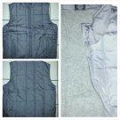 Gray sleeveless down vest Sleeveless outdoor Vest Gray Casual Vest jacket XL-3XL