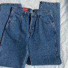 Rustler Cowboy BLUE DENIM JEAN PANTS MEN'S BLUE DENIM JEANS PANTS 30Wx34L
