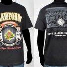 Mens Black short sleeve Negro League T shirt Pittsburgh Crawfords T shirt M-4X