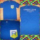 ROCAWEAR blue green short sleeve T shirt Rocaware short sleeve T Shirt  NWT