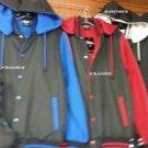 Gray White Hoody Jacket Gray Long sleeve Hoodie Jacket Varsity Jacket M-2X #3