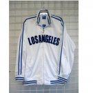 Los Angeles White Blue Track Jacket Kids Los Angeles baseball jacket XS-3XL