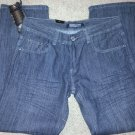 MENS BLACK DENIM JEAN PANTS STRAIGHT LEG BLACK DENIM JEANS PANTS 30Wx30L
