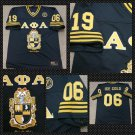 ALPHA PHI ALPHA BLACK GOLD FOOTBALL JERSEY ICE COLD ALPHA PHI ALPHA 1906 M-5X