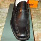Winston Black dress shoe Black Casual slip on casual dress shoe loafer 10.5US