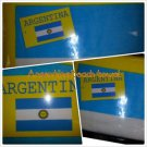 ARGINTINA Soccer Futbol Beach Towel ARGINTINA Blue Logo Beach Towel 27x56 New