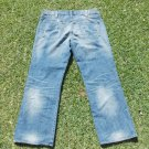 ROCK & REPUBLIC blue denim jean pants Men relax fit denim jean Pants 40WX30L IRG