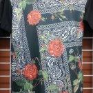 Rose Bandana short sleeve Sublimation T-shirt Designer Casual Fashion T-shirt