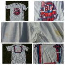 Blac Label White short sleeve T shirt White Red Blue short sleeve T shirt L USED