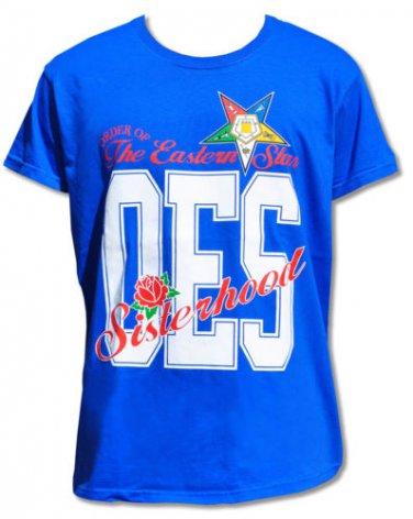 ORDER OF EASTERN STAR BLUE short sleeve T shirt S-4XL