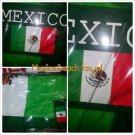 Mexico Green Soccer Futbol Beach Towel  Mexico Gold Logo Beach Towel 27x56 New