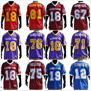 buy popular 71eb4 53c02 Alabama A&M Men's Football Jersey Mens short sleeve football ...