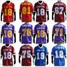 Alcorn State Football Jersey Mens short sleeve football jersey S-4X