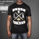 LAST KINGS BLACK SHORT SLEEVE T SHIRT LAST KINGS XXX SWORD T SHIRT S-XL NWT