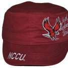 North Carolina Central University Captains Cap Baseball Cadet Captains Cap Hat