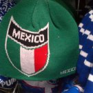 GREEN RED MEXICO SKULL CAP MEXICO EMBROIDERY EMBROIDED SKULL CAP BEANIE #2