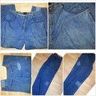 VINTAGE DON BLUE DENIM JEAN PANTS MEN'S BLUE DENIM JEANS PANTS  38Wx32L Shun