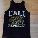 Cali Republic Black short sleeve Tank Top Camouflage Cali Republic Tank top S-XL
