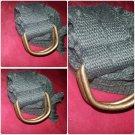 Army Green cargo twill belt Heavy duty cotton twill belt Unisex belt 34-36W