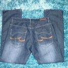Mens blue denim jean pants by SR JEAN blue denim jean pants 34WX32L Relaxed