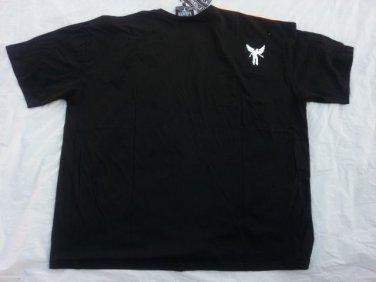 Lavie black white short sleeve T shirt Mens casual short sleeve T shirt 4XL NWT