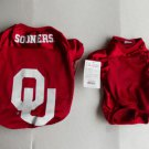 Oklahoma Sooners Dog football jersey Little Dog One Piece Football jersey M