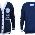 Jackson State Light Weight Cardigan sweater Womens HBCU College sweater S-3X