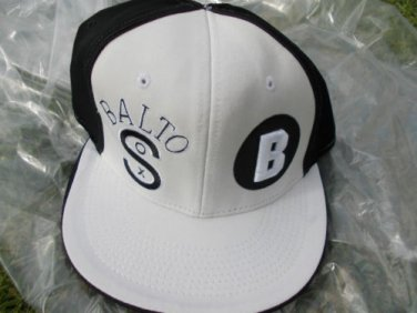 BLACK BALOT SOX Negro league baseball Cap 7 1/8 WOOL FITTED BASEBALL CAP