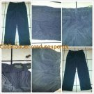 EDDIE BAUER Gray Corduroy pants mens gray relax fit Corduroy pants 34WX32L