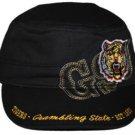 Grambling State Tigers GSU G-MEN Captain Cap Baseball Cadet Captains Cap Hat NWT