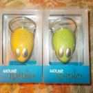 Yellow FM Desktop Radio Computer Mouse Radio (Computer Mouse Shaped Photo holder