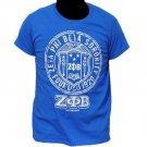 ZETA PHI BETA Blue short sleeve T shirt Zeta Phi Beta Sorority T shirt S-4X