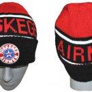 Tuskegee Airman Redtails US ARMY Black Red SKI CAP BEENIE BEANIE SKULL CAP