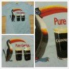 Vintage Style GUINNESS Blue short sleeve Vintage style T-shirt PURE GENIUS TEE M