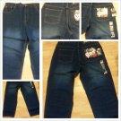 Blue Denim Jean Pants Mens Classic fit blue denim jean pants 40Wx30L NWT