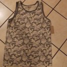 Camouflage GREEN TANK TOP T-SHIRT MENS Camouflage olive green TANK TOP Shirt